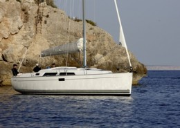 Rent sailboat Hanse 350, Bombon Segundo
